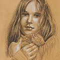 A Girl With The Pet by Irina Sztukowski