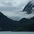 A Glacier Receding - II by Geoffrey McLean