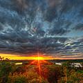 A Glorious Minneapolis Sunset by Wayne Moran