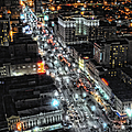 A Gothic Night In New Orleans On Canal Street by Kathleen K Parker