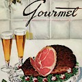 A Gourmet Cover Of Ham by Henry Stahlhut