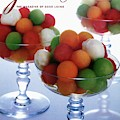 A Gourmet Cover Of Melon Balls by Romulo Yanes