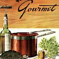 A Gourmet Cover Of Turtle Soup Ingredients by Henry Stahlhut