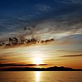 A Great Salt Lake Sunset by Steven Milner