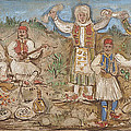 A Greek Feast by Theofilos