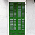 A Green Door In New Orleans by Christine Till