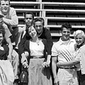 A Group Of 1950s Teens by Bob Berg