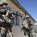 A Group Of U.s. Army Soldiers Provide by Stocktrek Images