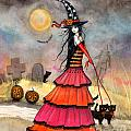 A Halloween Stroll by Molly Harrison