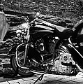 A Harley Davidson And The Virgin Mary by Andy Prendy