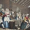A Harlots Progress, Plate Lv Scene by William Hogarth