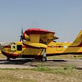A Hellenic Air Force Canadair Cl-215 by Timm Ziegenthaler