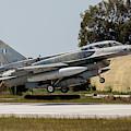 A Hellenic Air Force F-16d Block 52+ by Timm Ziegenthaler