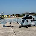 A Hellenic Air Force Super Puma Search by Timm Ziegenthaler
