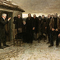 A Highland Funeral by Sir James Guthrie