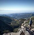 A Hiker Looks At The View by Ryan Heffernan