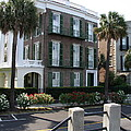 A Historic Home On The Battery - Charleston by Christiane Schulze Art And Photography