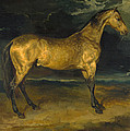 A Horse Frightened By Lightning by Jean-Louis-Andre-Theodore Gericault