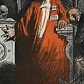 A Judge In Full Garments, Illustration by Eugene Cadel
