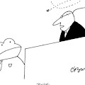A Judge Speaks To The Bailiff by Charles Barsotti