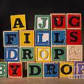 A Jug Fills Drop By Drop by Art Whitton