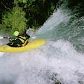 A Kayaker Running A Beautiful Spirit by Charlie Munsey