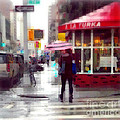 A La Turka In The Rain - Restaurants Of New York by Miriam Danar