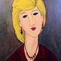 A Lady With Jewelry by Sharon Lee Samyn