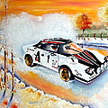 A Lancia Stratos In Full Song by Anne Dalton
