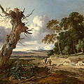A Landscape With Two Dead Trees by Jan Wijnants