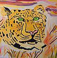A Leopard's Gaze by Meryl Goudey