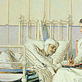 A Letter To Mother by Piotr Petrovitch Weretshchagin