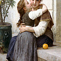 A Little Coaxing by William Bouguereau