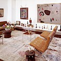 A Living Room Full Of Art by Wiliam Grigsby
