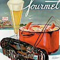 A Lobster And A Lobster Pot With Beer by Henry Stahlhut