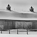 A Long Barn  7k00040b by Guy Whiteley