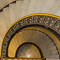 A Look Down The Stairs by Ray Sheley