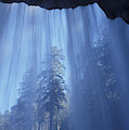 A Low Angle View Of Vernal Falls, North by Chris Pinchbeck
