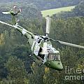 A Lynx Mk 7 Helicopter by Paul Fearn