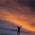 A Man In Lone Pine, California by Corey Rich