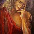 A Man In Toga by Sylva Zalmanson