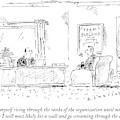A Man Interviews For A Job by Barbara Smaller