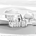 A Man Speaks To A Group Of Journalists by Paul Noth