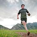 A Man Trail Runs Along The Spring Brook by Randall Levensaler
