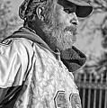 A Man With A Purpose Monochrome by Steve Harrington