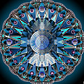 A Mandala Abstract by Mario Carini