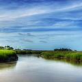 A Marsh At Jekyll Island by Greg and Chrystal Mimbs