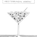 A Martini Glass Full Of Olives by Christopher Weyant