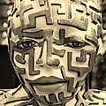 A Maze Ing Man 3 Sepia by Rob Hans