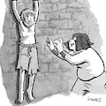 A Medieval Torturer Approaches A Hanging by Benjamin Schwartz